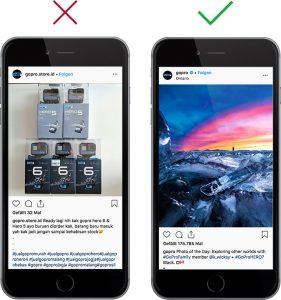 Vergelichende Handys mit Social Media