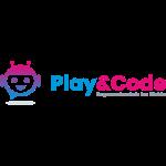 Das Logo der Programmierschule Play & Code