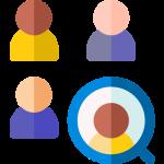 Icon mit vier personen