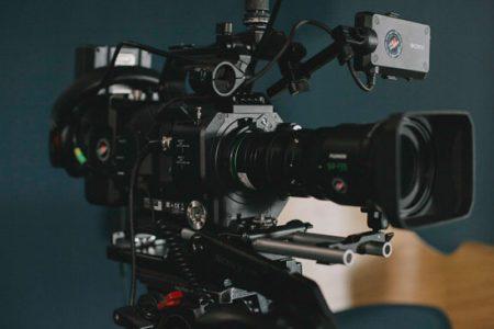 Ein Bild von eine Video Kamera.
